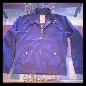 Men's J. Lindeberg Golf Jacket. XL Navy